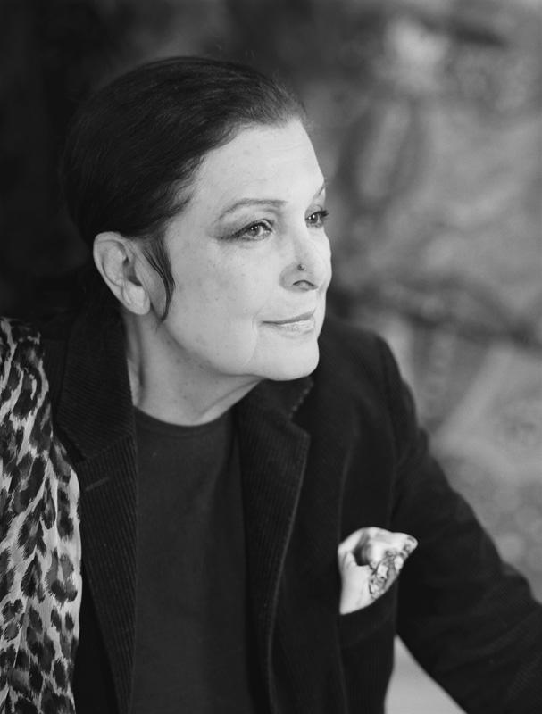Leïla Menchari photographiée par Carole Bellaïche 2010