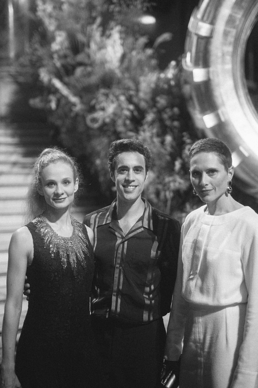 Leonore Baucla, Mathias Heymann et Emilie Cozette