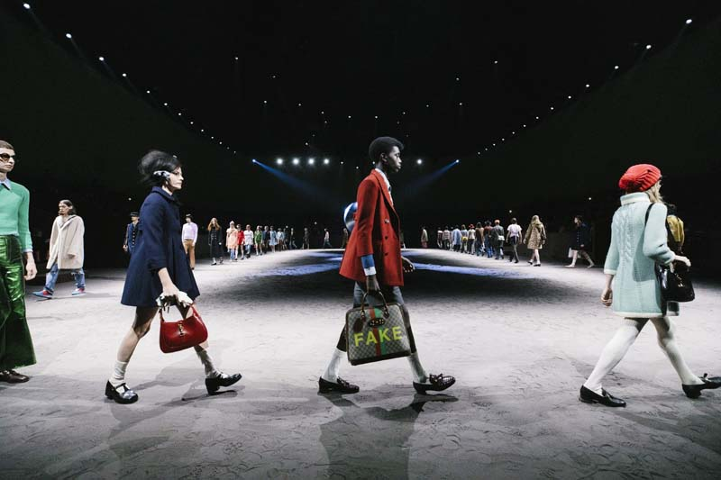 Courtesy of Gucci Images by Anton Gottlob