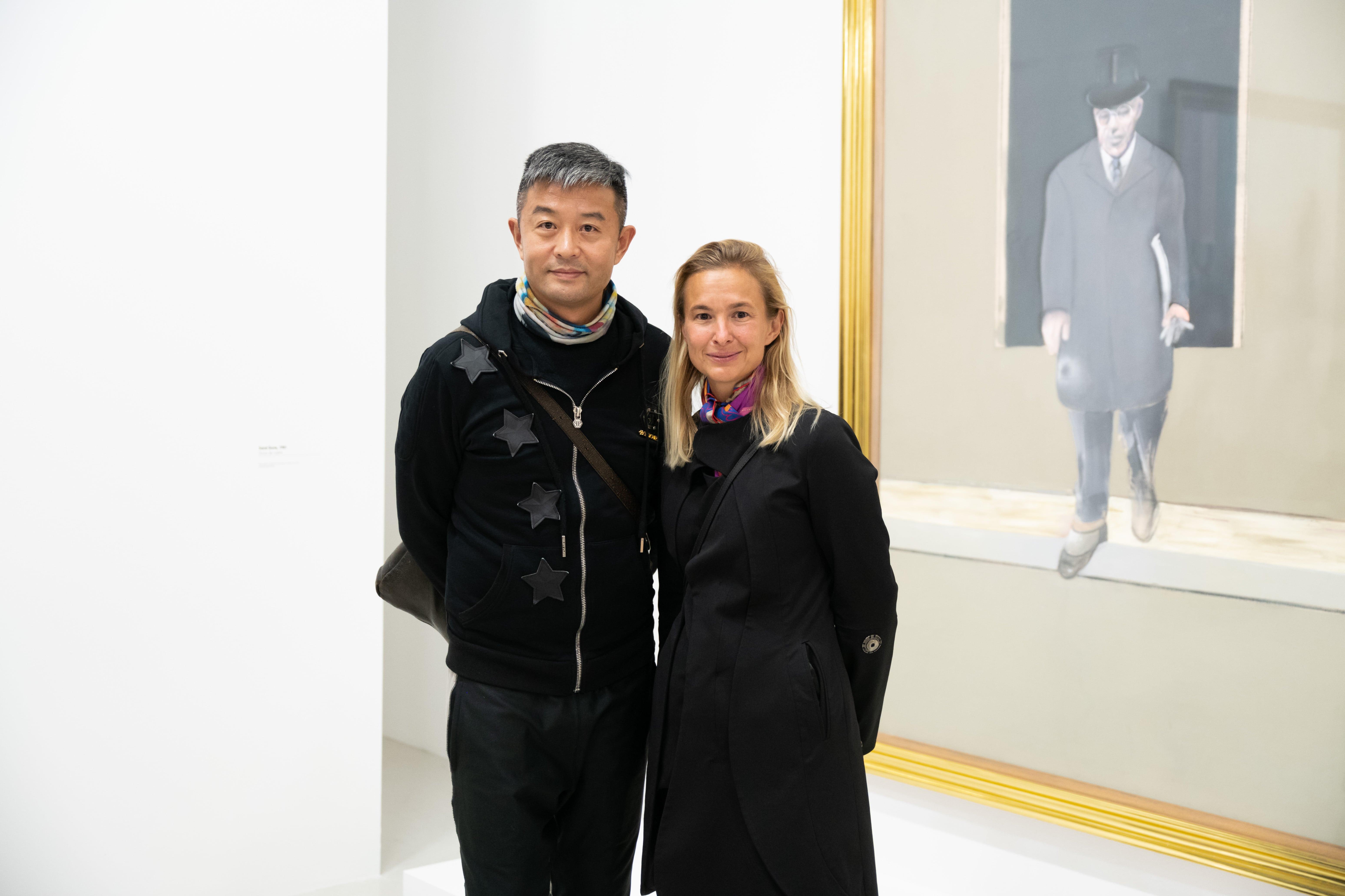 Liu Bolin et Magda Danysz