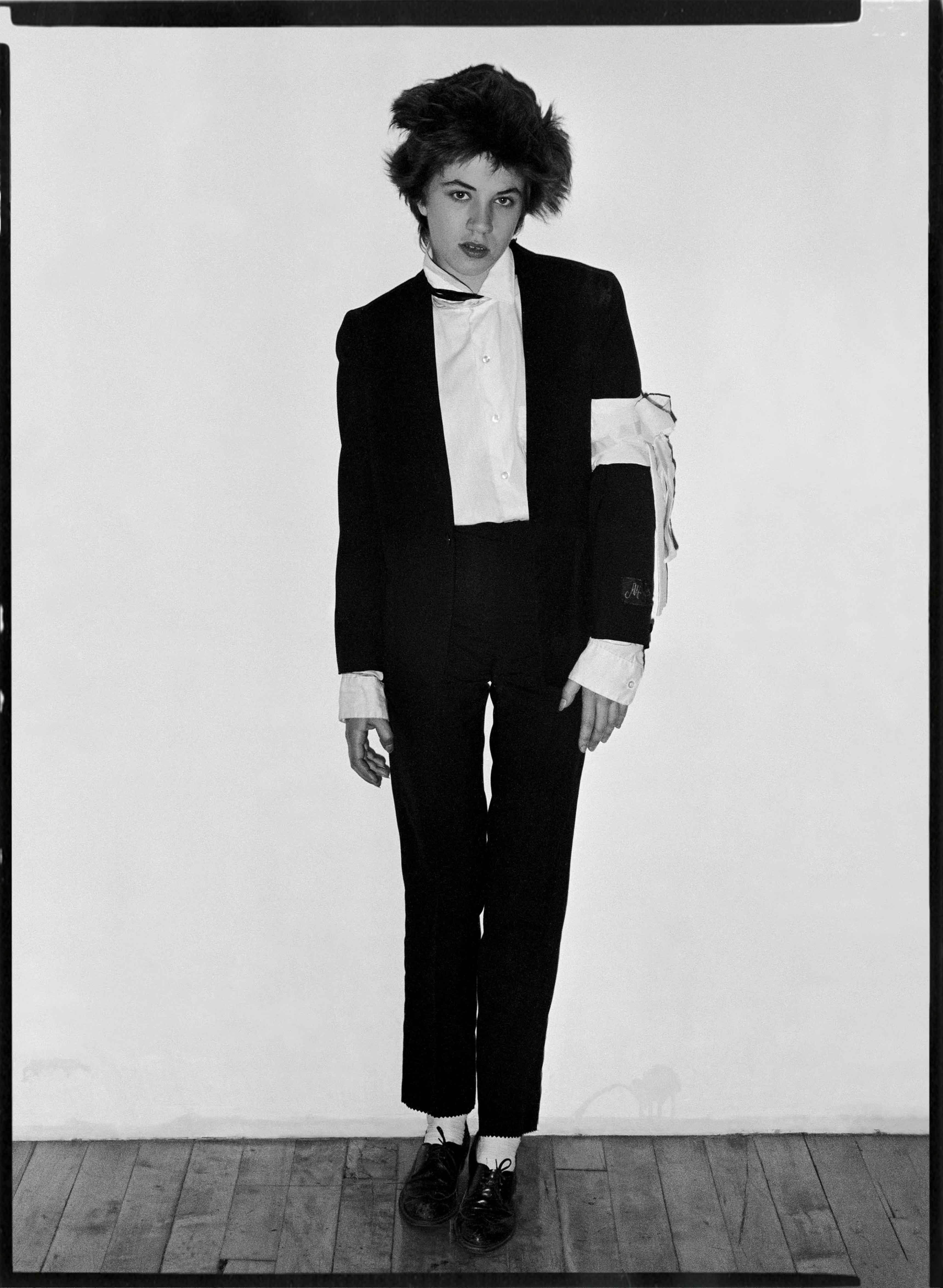 Lizzy Mercier Descloux, 1977 ©Michel Esteban