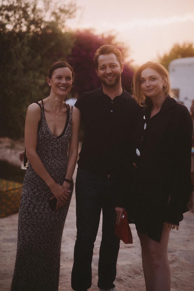 Jo Ellison, Derek Blasberg et Jane McFarland © Virgile Guinard
