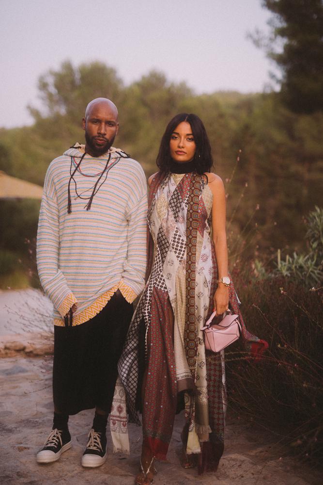Matthew Henson et Amina Muaddi © Virgile Guinard