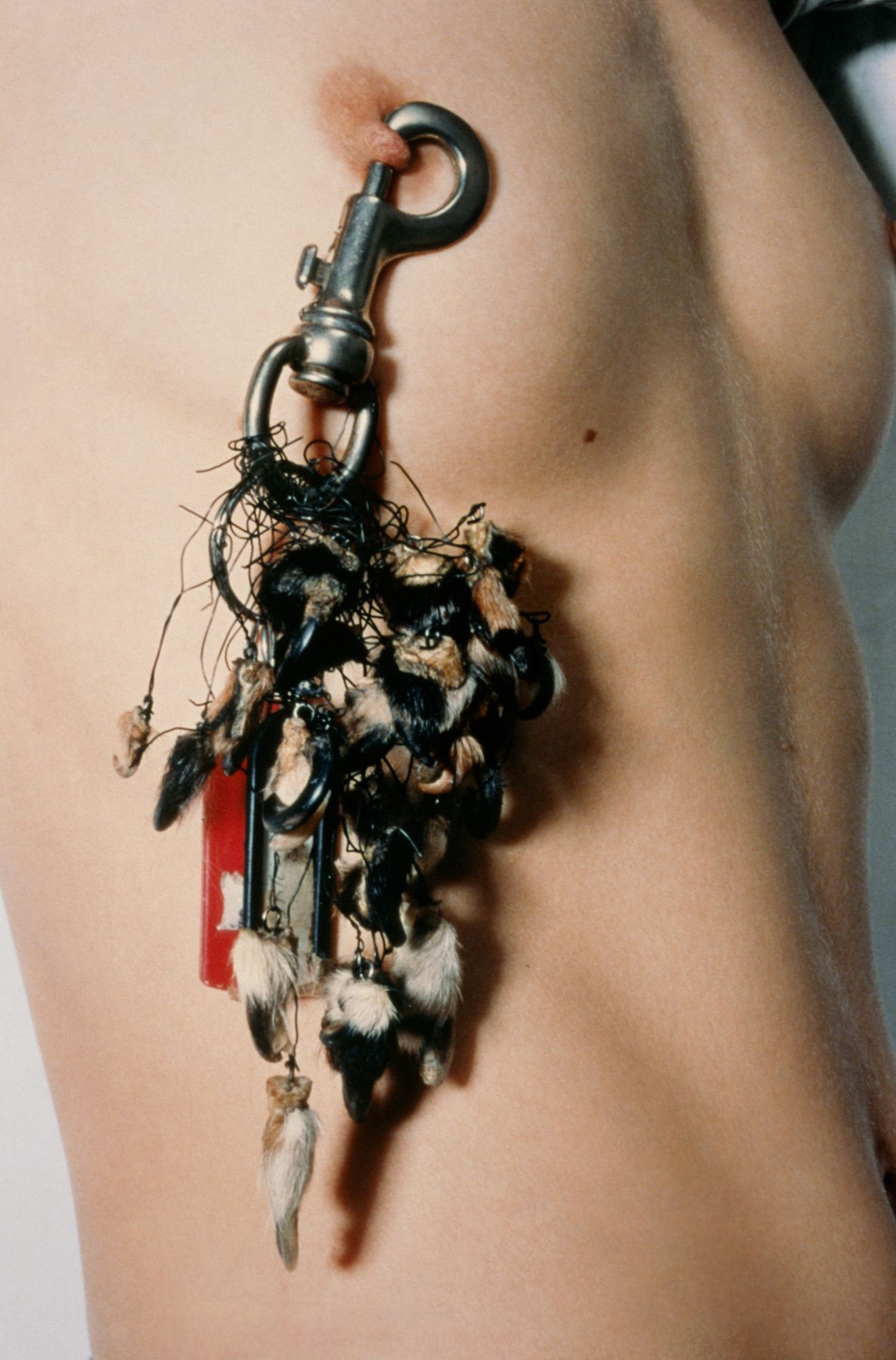 Lot 6 Sigalit Landau, Key Holder, 1996 – Estimate: 15,000 - 20,000 € Courtesy of the artist and Kamel Mennour, Paris / London