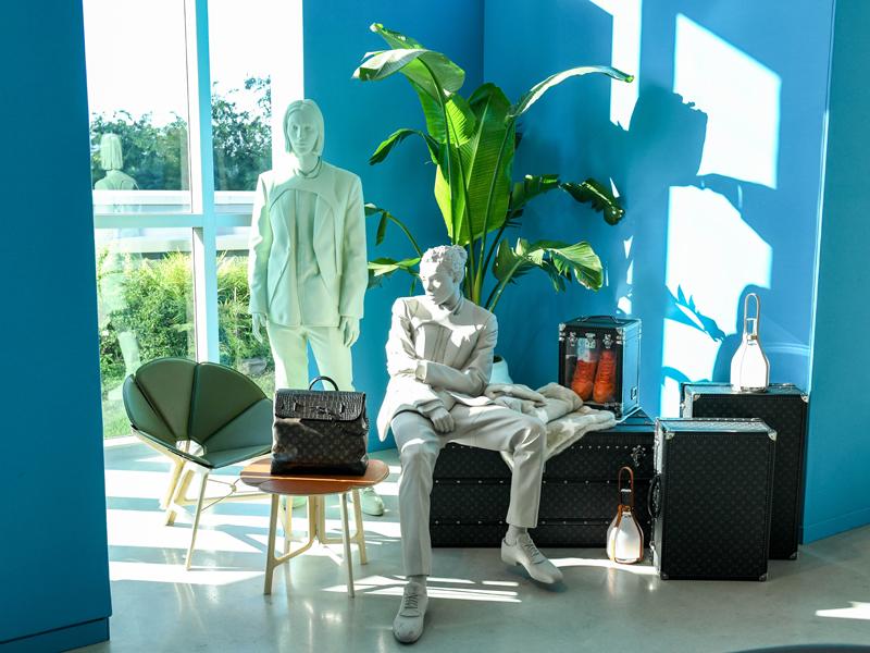 Vue de L'Atelier Louis Vuitton à Miami © BFA