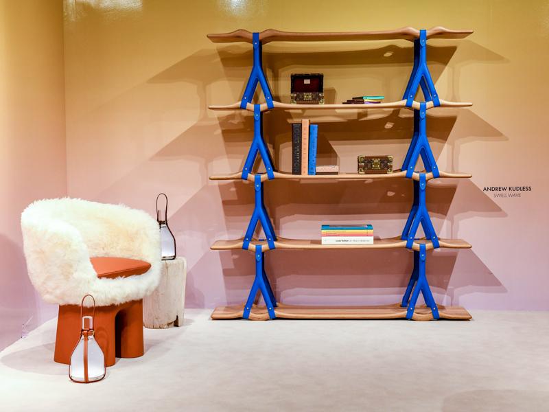 Vue du stand Louis Vuitton à Design Miami © BFA