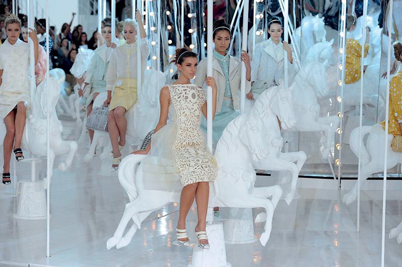 Louis Vuitton printemps-été 2012 par Marc Jacobs