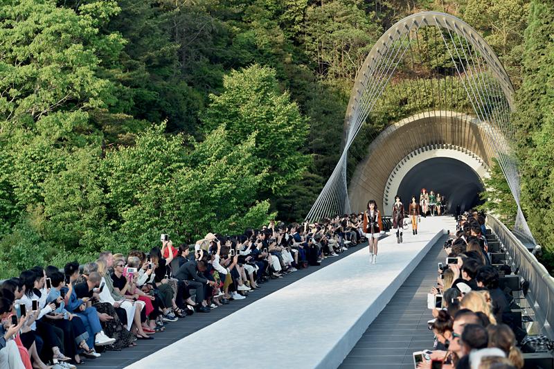 Louis Vuitton resort 2018 par Nicolas Ghesquière