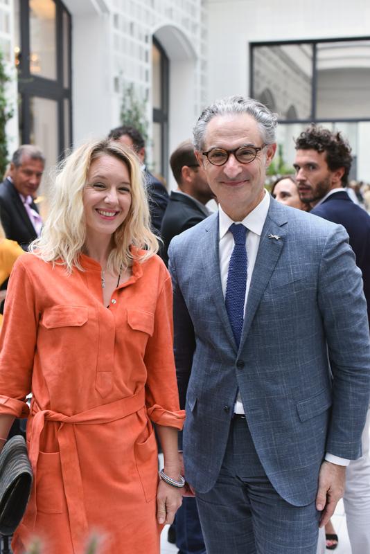 Ludivine Sagnier & Jean-Luc Cousty