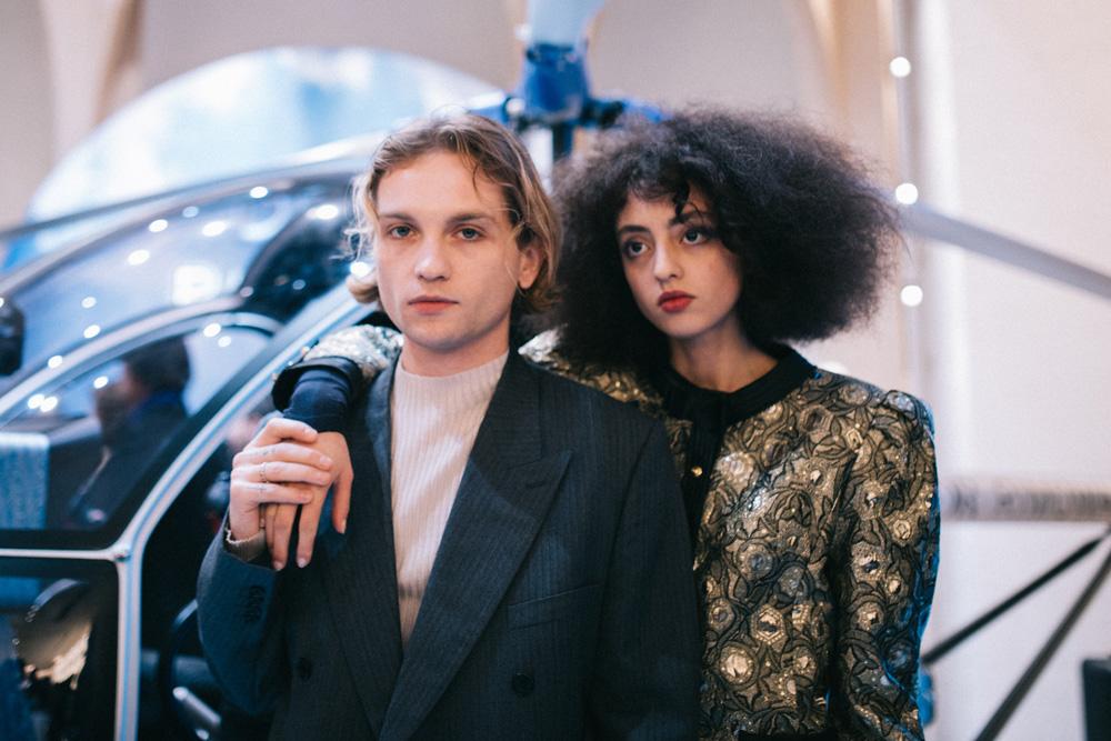 Lukas Ionesco et Clara Benador