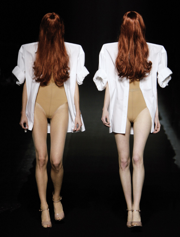Maison Martin Margiela printemps-été 2009, photo : Giovanni Giannoni