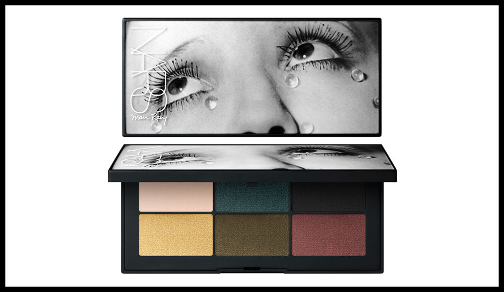"""""""Eyeshadow Palette Glass Tears, crybaby, hearthbreaker, loverboy, tryst, one and only, vengeance"""". 39 euros. Exclusivité grands magasins."""