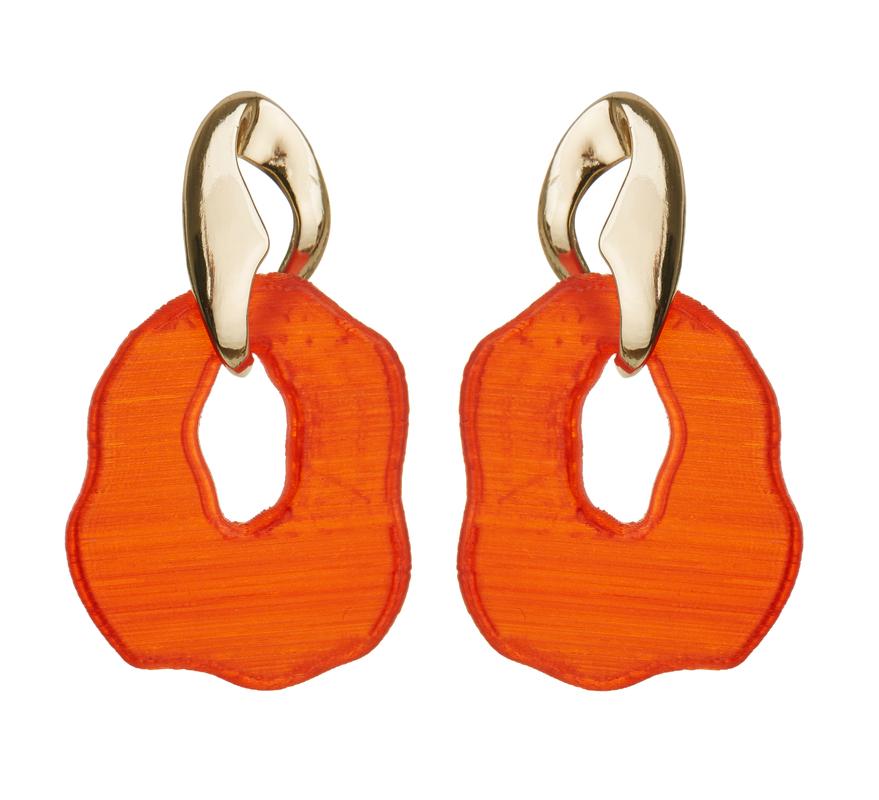 Boucles d'oreilles Mango Capsule 3D