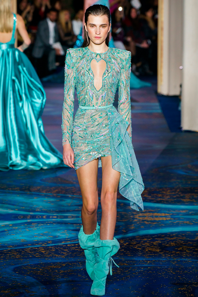 Zuhair Murad, collection couture printemps-été 2019.