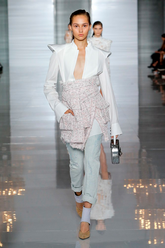 Balmain, collection printemps-été 2019.