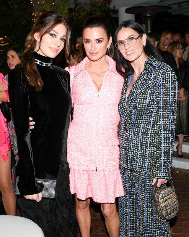 Camila Morrone, Penélope Cruz & Demi Moore