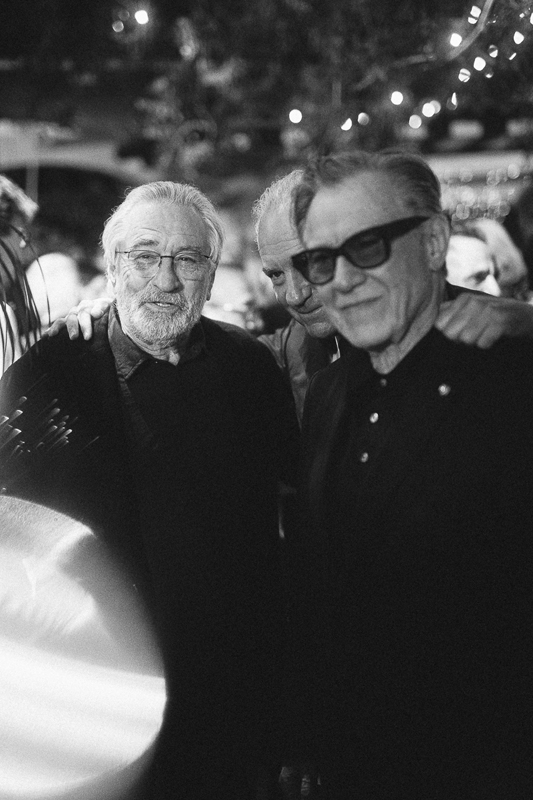 Robert De Niro & Harvey Keitel