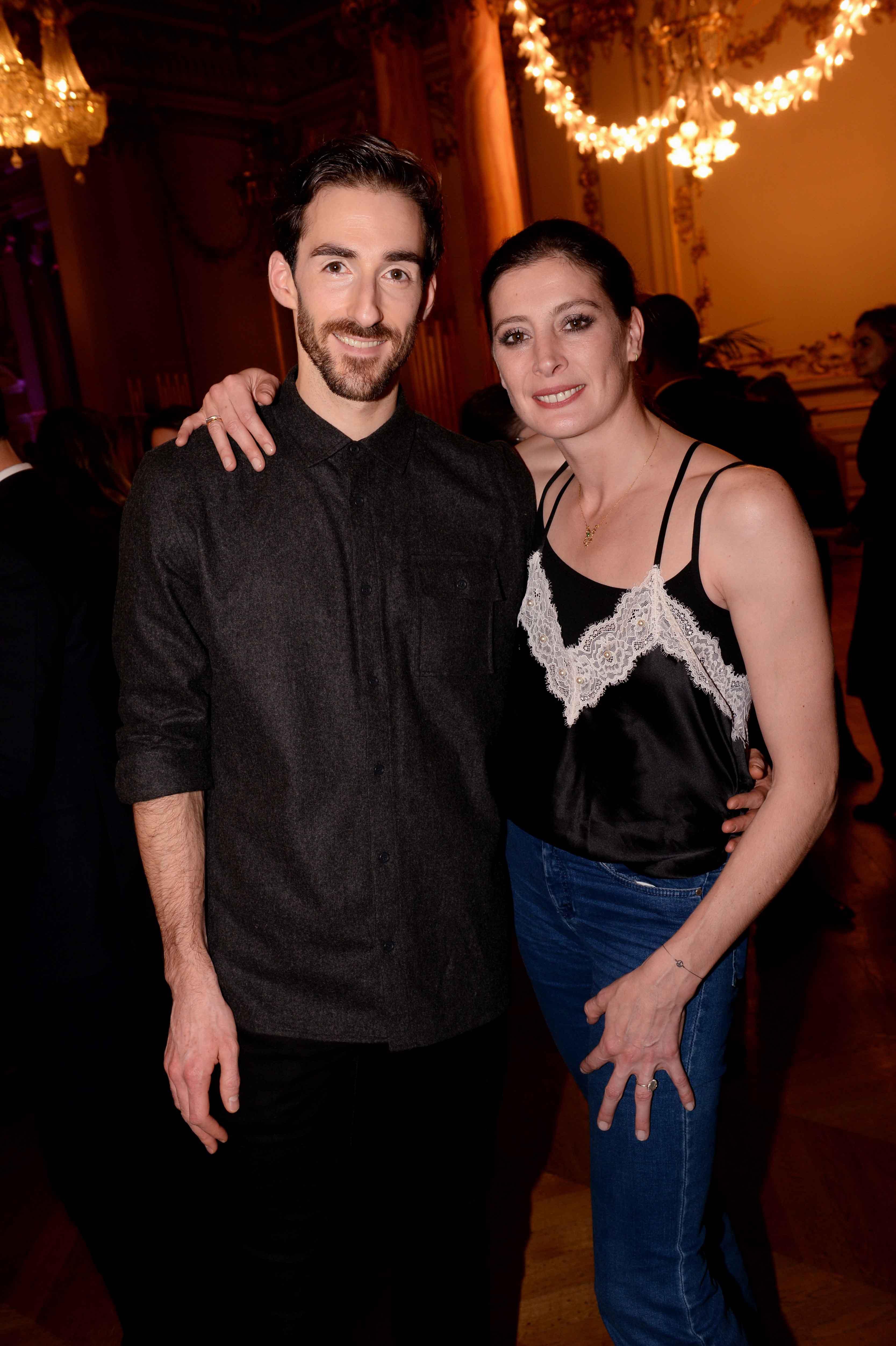 Marie-Agnès Gillot et Vincent Chaillet