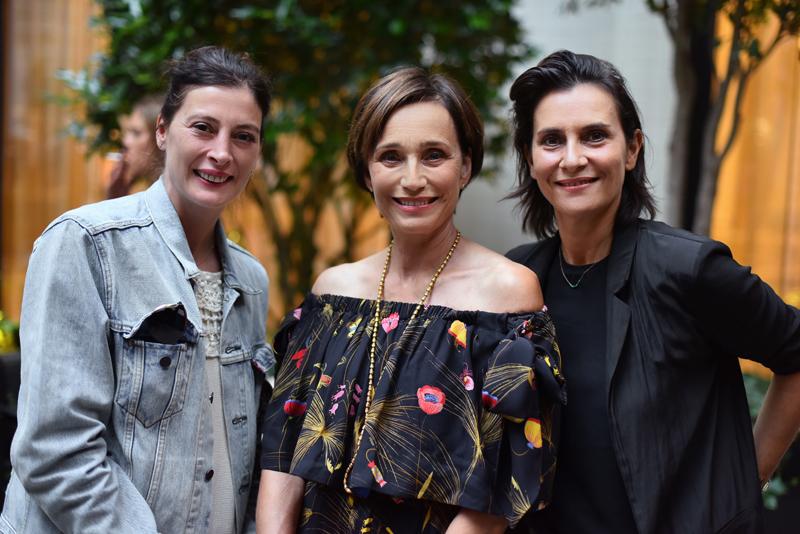Marie-Agnès Gillot, Kristin Scott Thomas & Geraldine Pailhas