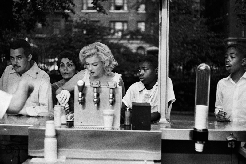 Marilyn Monroe, New York, mai 1957, Sam Shaw