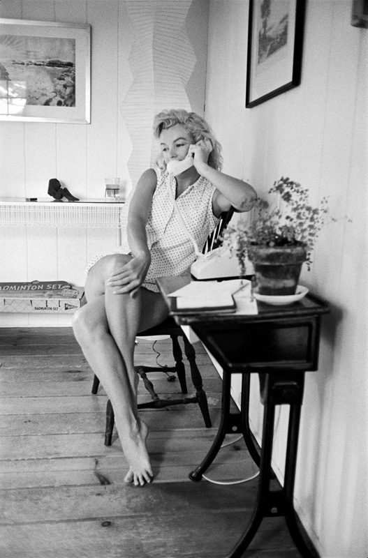 Marilyn Monroe, Connecticut, mai 1957, Sam Shaw