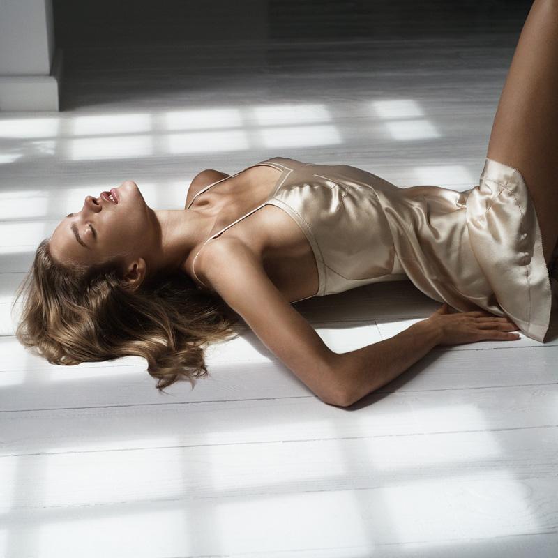 Natalia Vodianova par Mario Sorrenti