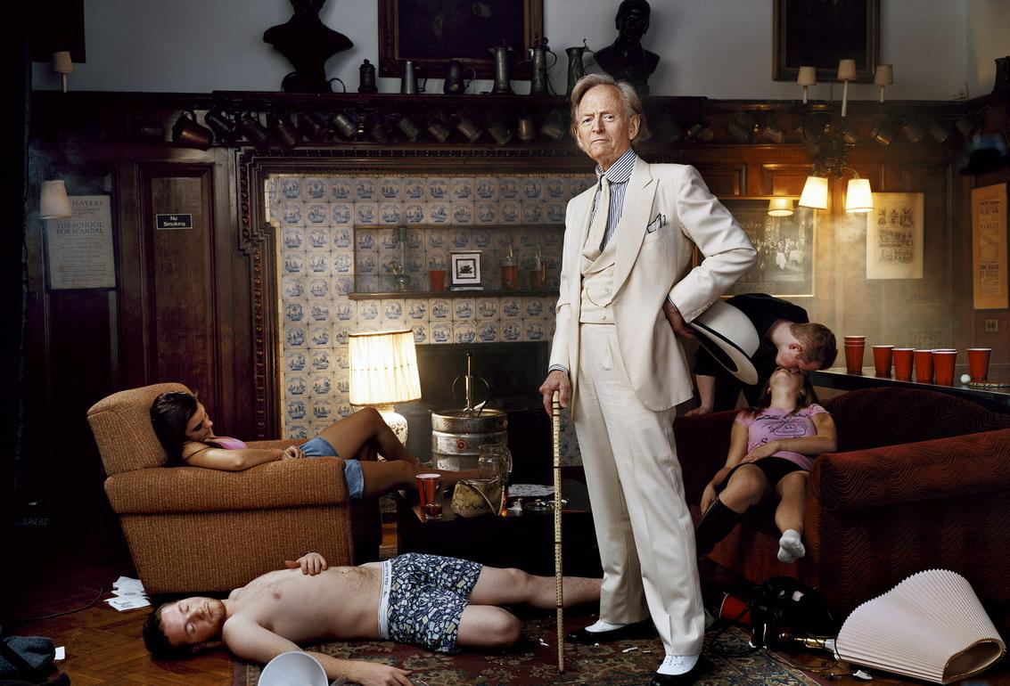 Tom Wolfe, par Martin Schoeller
