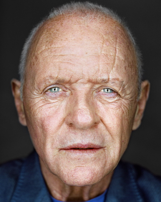 Anthony Hopkins, par Martin Schoeller