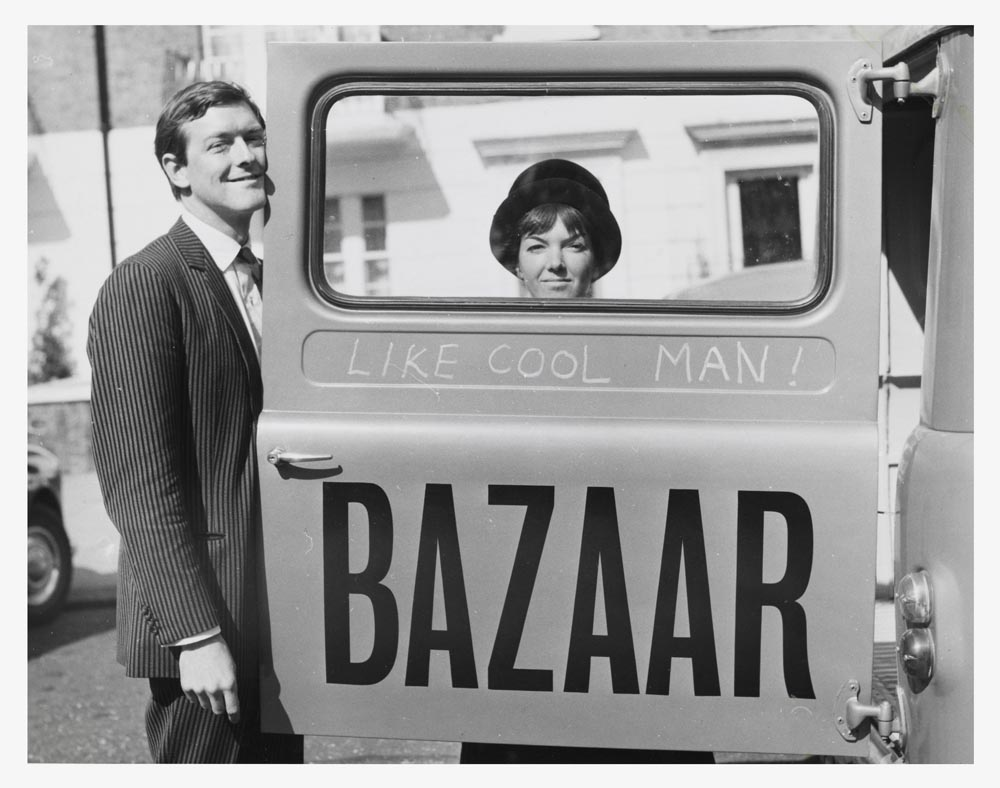 Mary Quant et Alexander Plunket Greene, photographie par John Cowan, 1960, courtesy of Terence Pepper Collection/Image © John Cowan Archive