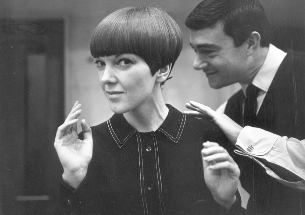 Mary Quant, photographie de Ronald Dumont, c.1967. © Ronald  Dumont / Stringer / Getty Images
