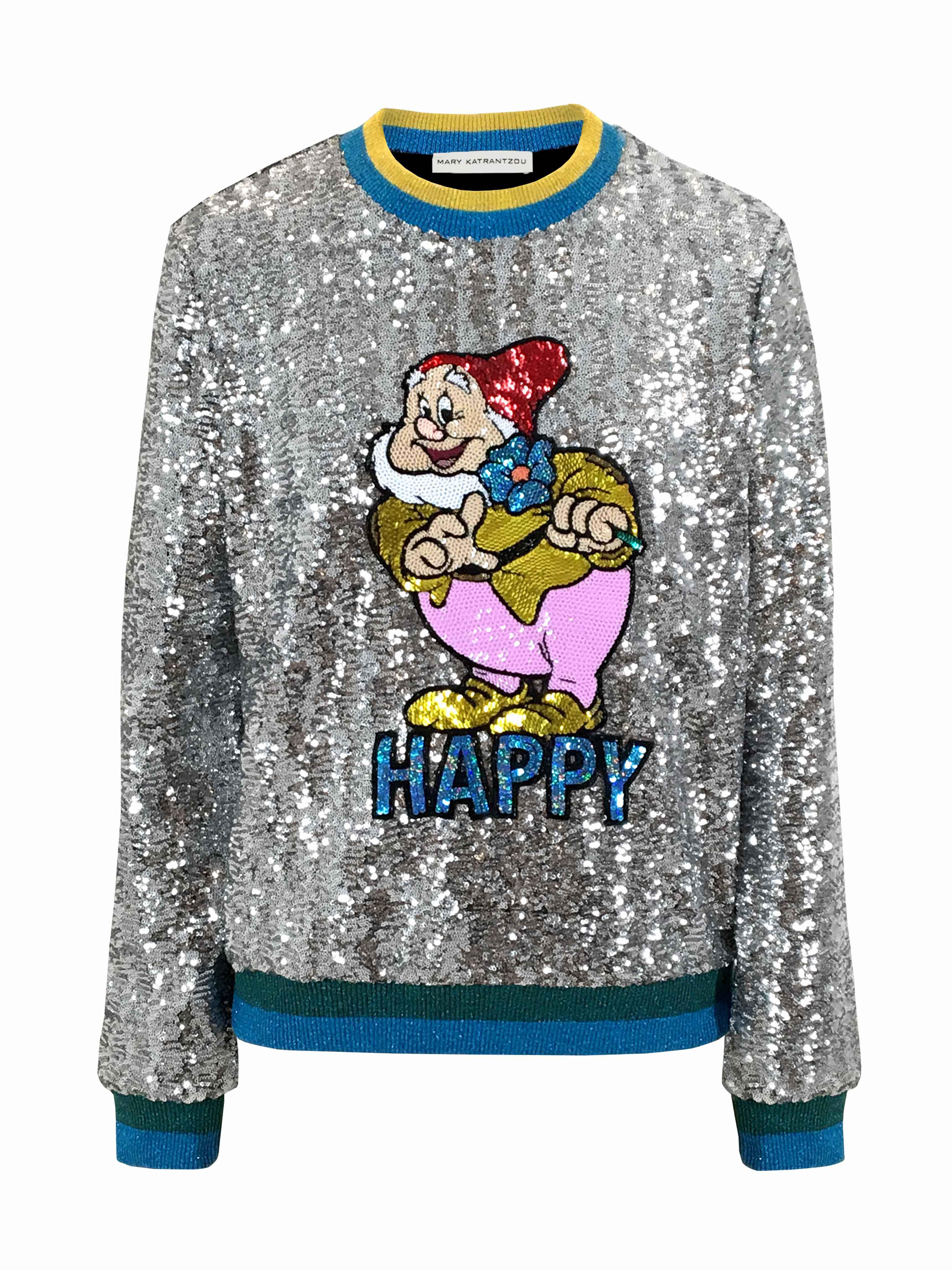 Mary Katrantzou, Sweatshirt, Happy