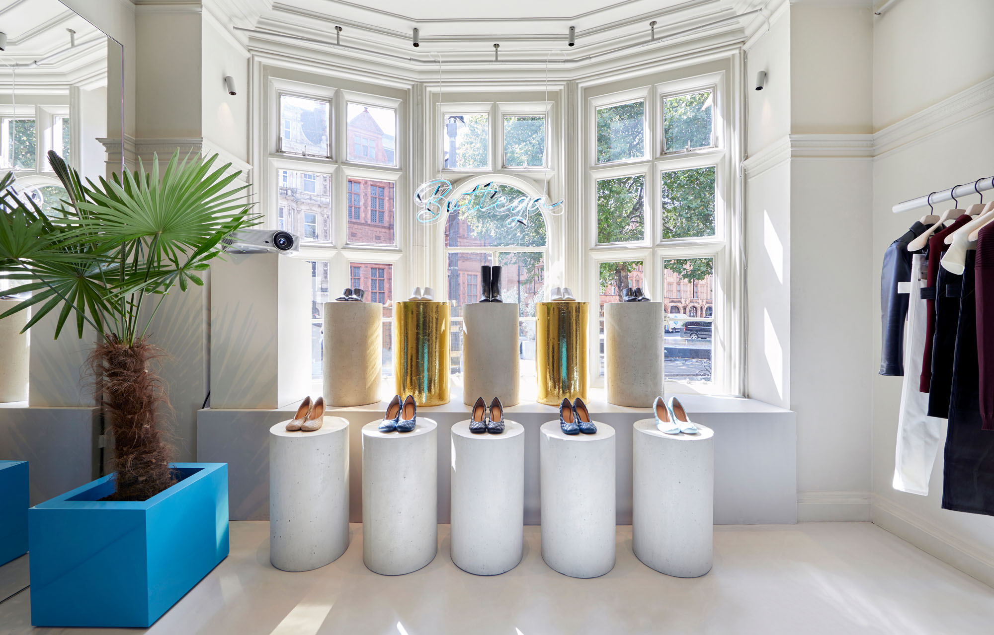 L'installation Bottega Veneta au 5 Carlos Place à Londres