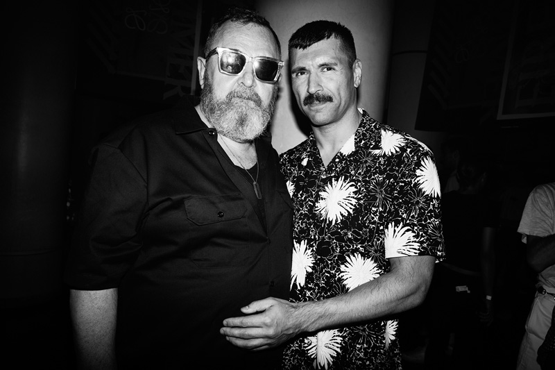 Michel Gaubert et Ryan Aguilar