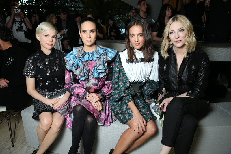 Michelle Williams, Jennifer Connelly, Alicia Vikander et Cate Blanchett