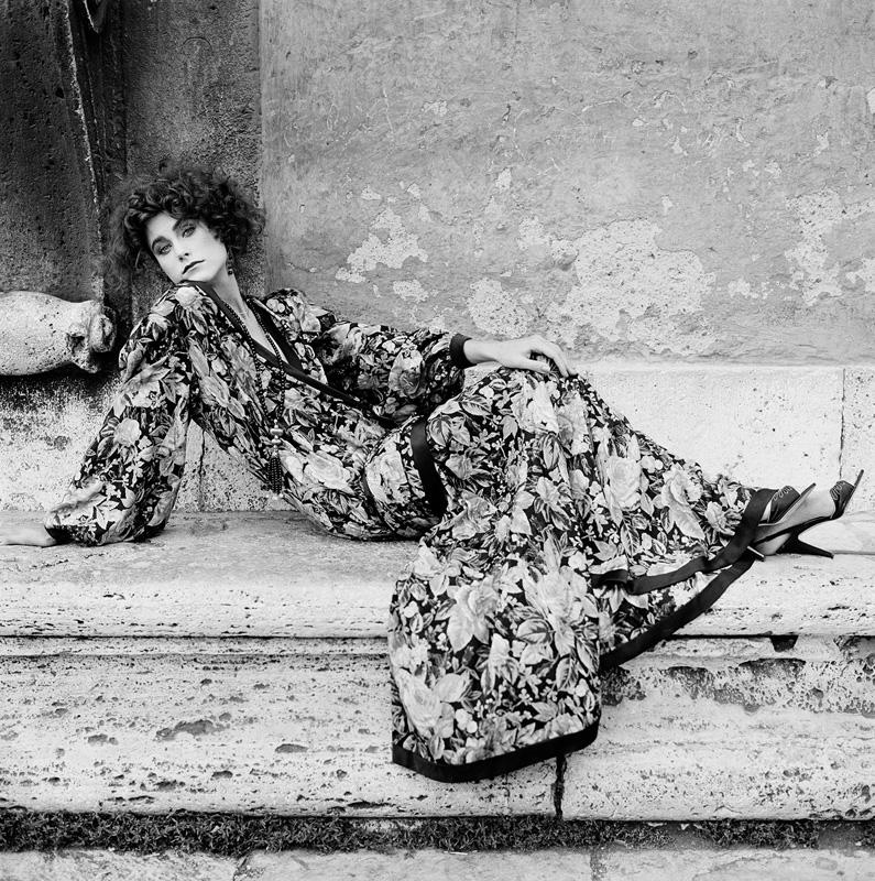 Mode Palais Farnèse Rome  VOGUE ITALIE 1981
