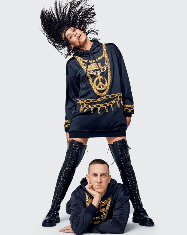 Photographe Marcus Mam et styliste Carlyne Cerf de Dudezele.