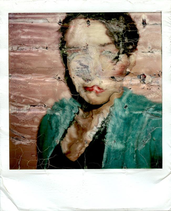 MP Distortion (self portrait), 1978