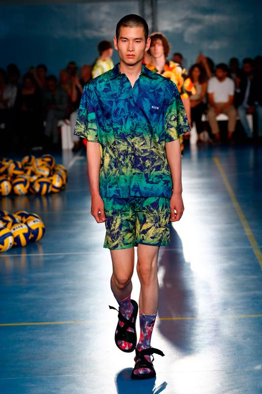 MSGM men spring-summer 2019 fashion show