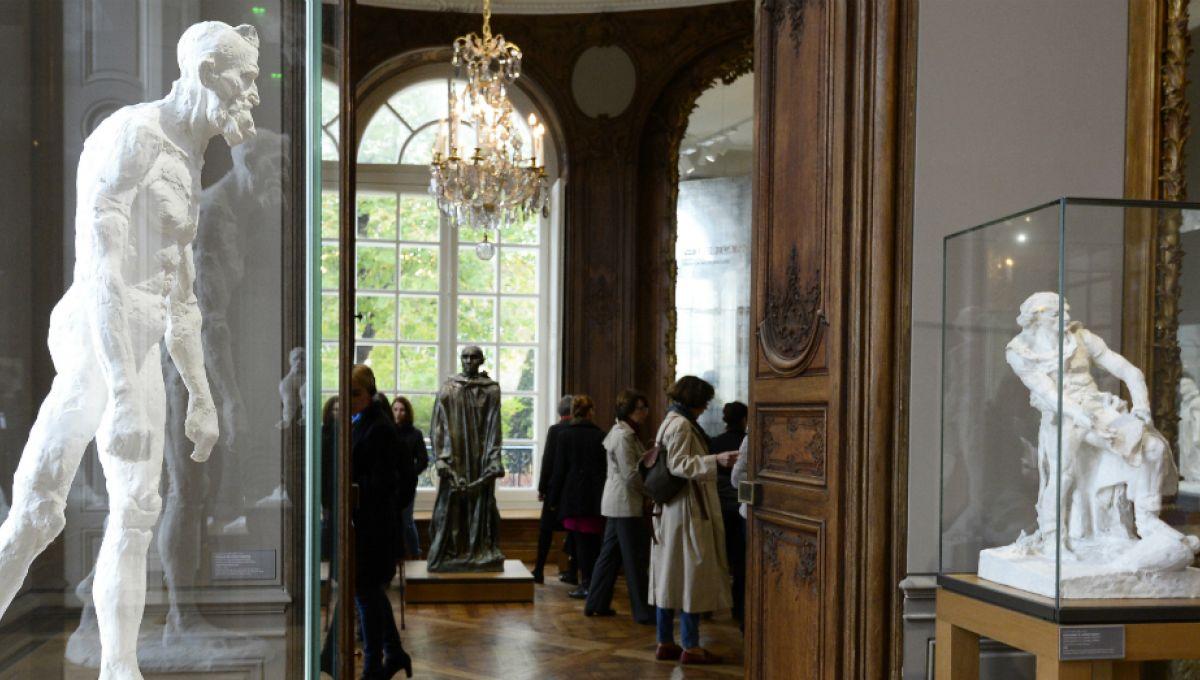 Vue d'intérieur du musée Rodin