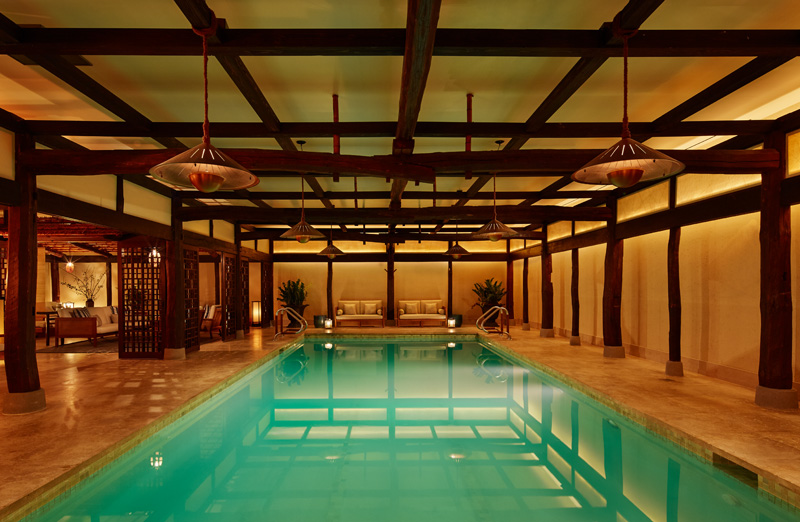 La piscine du spa Shibui du Greenwich hôtel à Tribeca, New York
