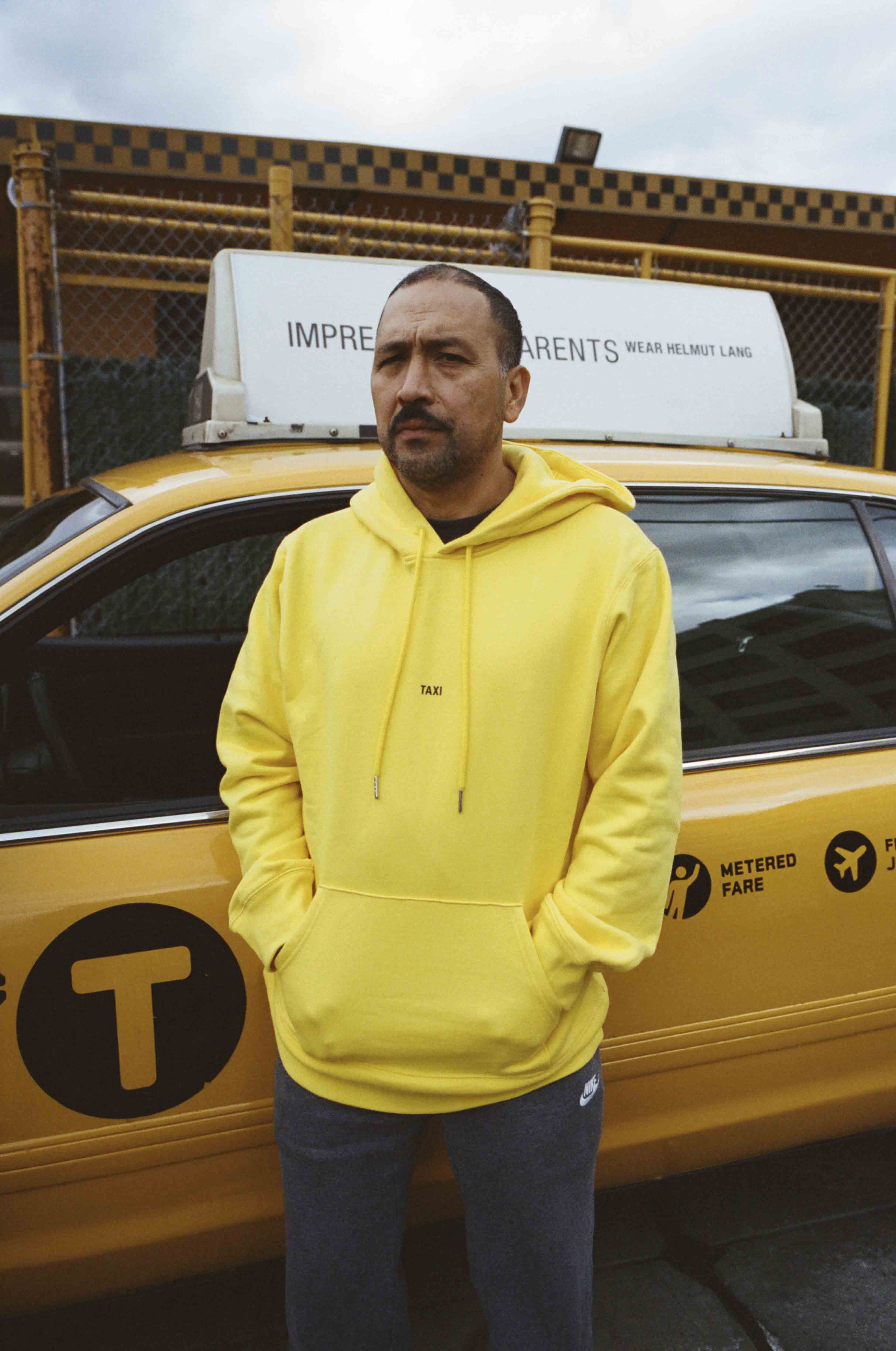 Helmut Lang, Global Taxi Initiative, New York - Photo : Alex Lee