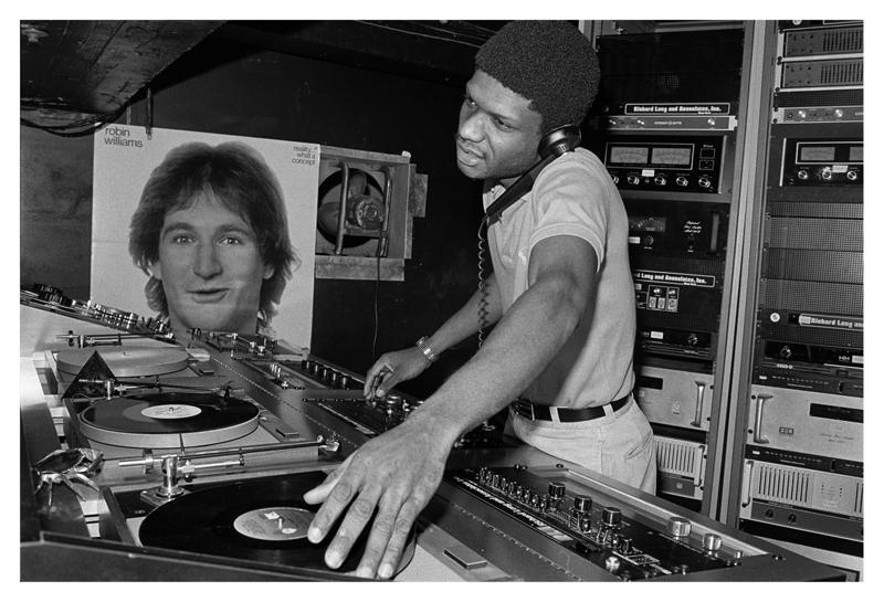 Paradise Garage DJ Larry Levan, 1979