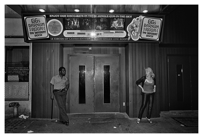 GG's Barnum Room Entrance, 1979