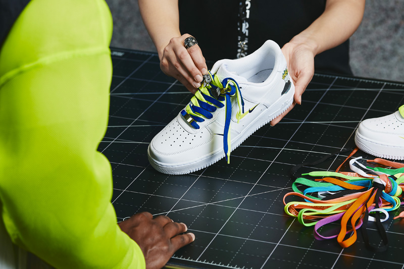 Atelier de personnalisation Nike by You © Nike House of Innovation Paris