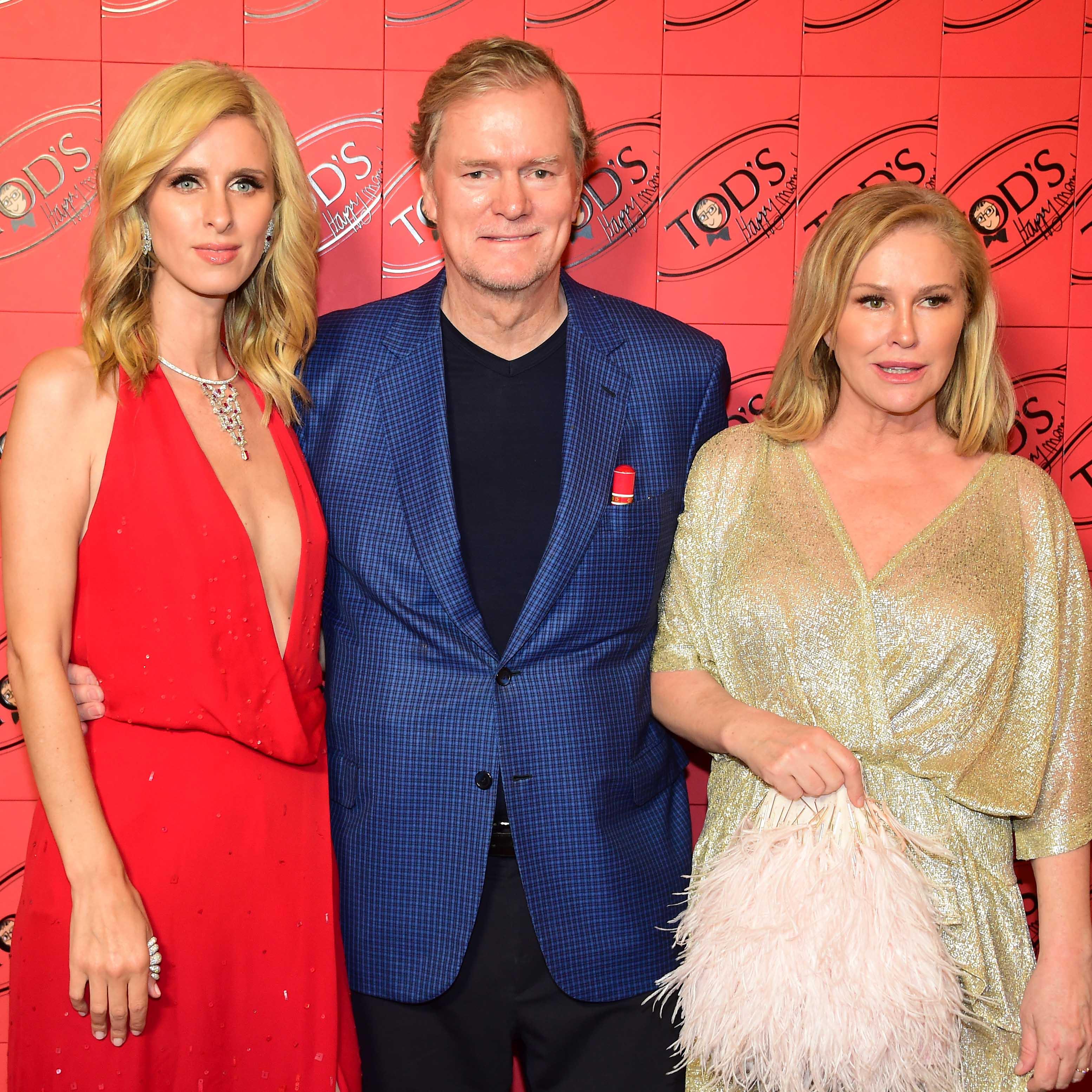 Nicky, Richard et Kathy Hilton