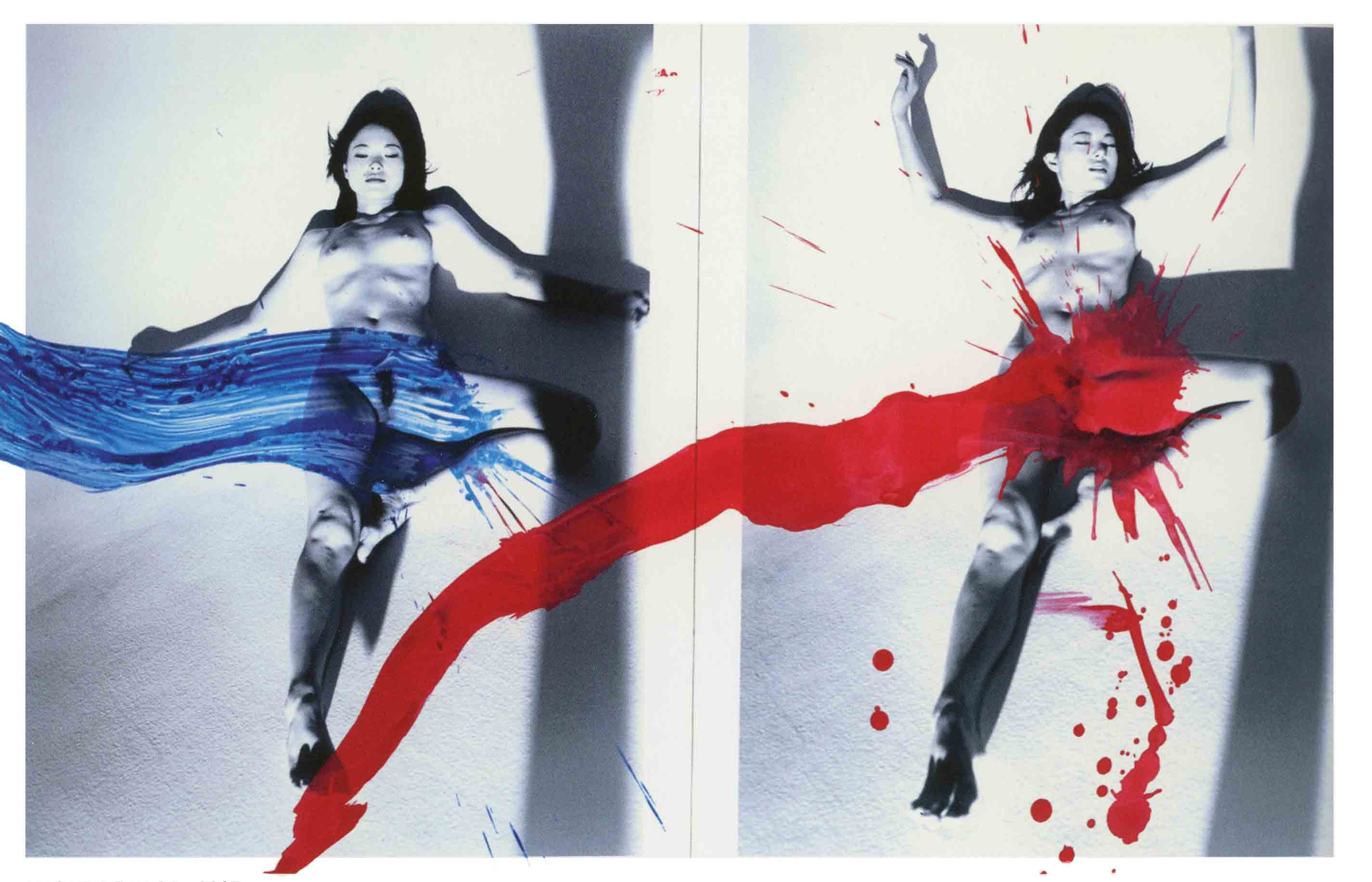 Nobuyoshi Araki_KaoRi Love, 2007 (Diptych), Private Collection, New York (A)