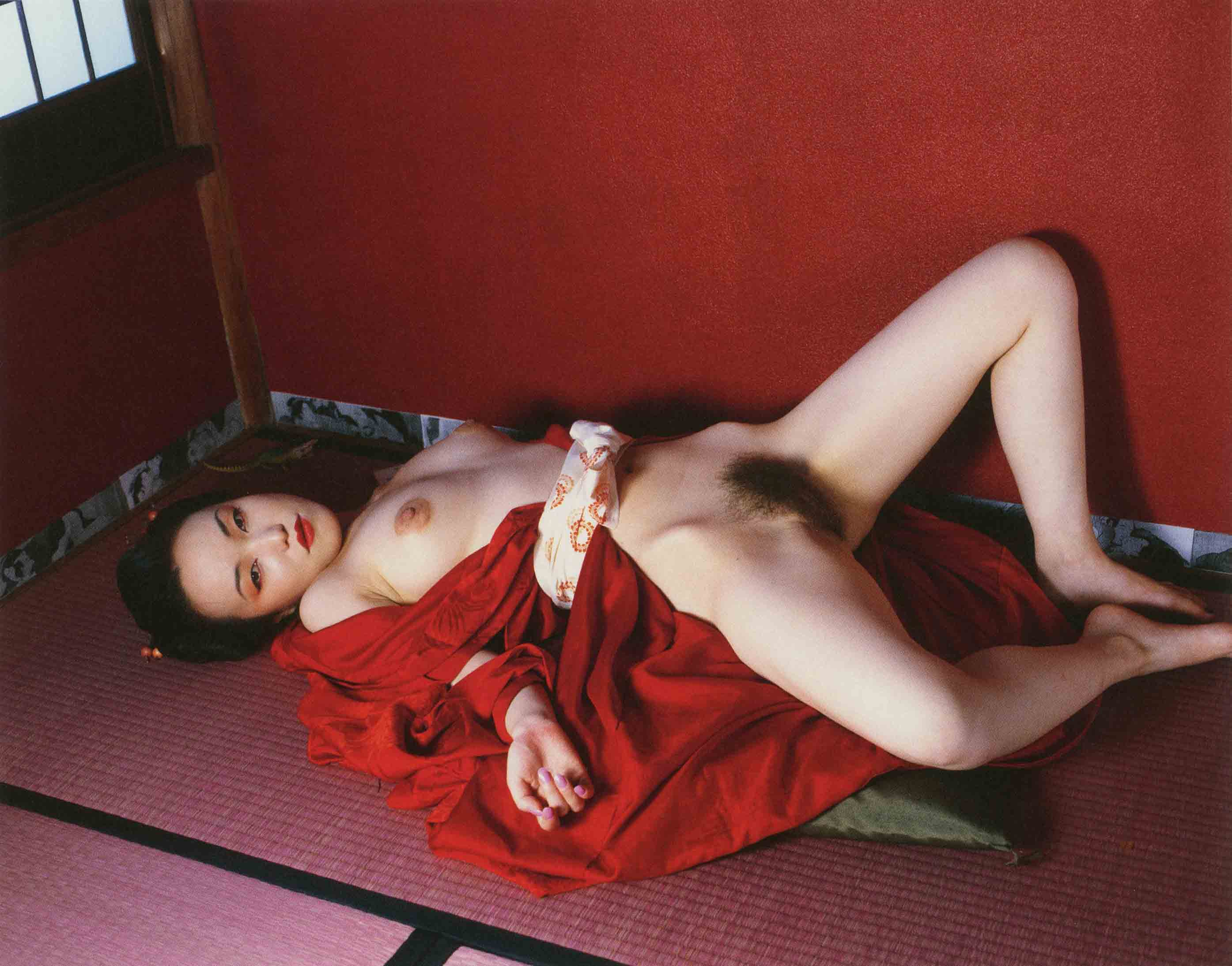 Nobuyoshi Araki_Komari from L'Amant, (Suicide in Tokyo), 2002, Private Collection, New York