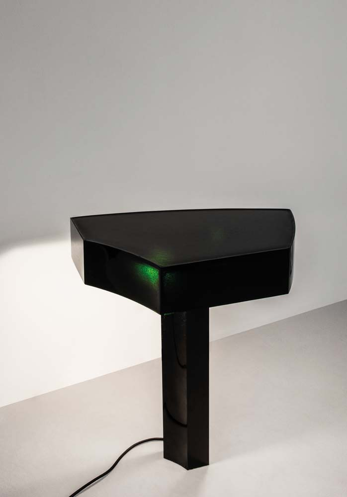 """Barbar Table Lamp"", Studio Anne Holtrop, Cast Glass, Edition of 8 + 2 A.P. Chez Maniera."