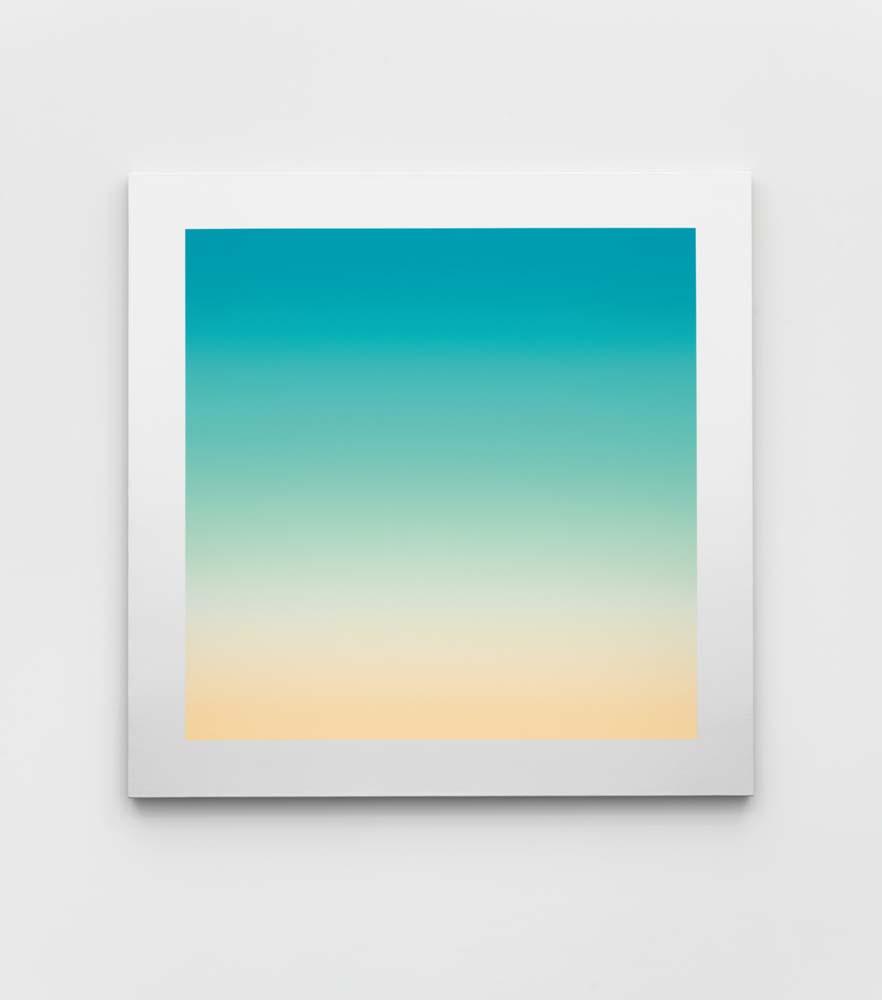 Suicide 11, Rob Pruitt, 2018, ex. unique, acrylic on linen, 111.0 × 111.0 cm. Chez Massimo de Carlo. Photo par EPW Studio.