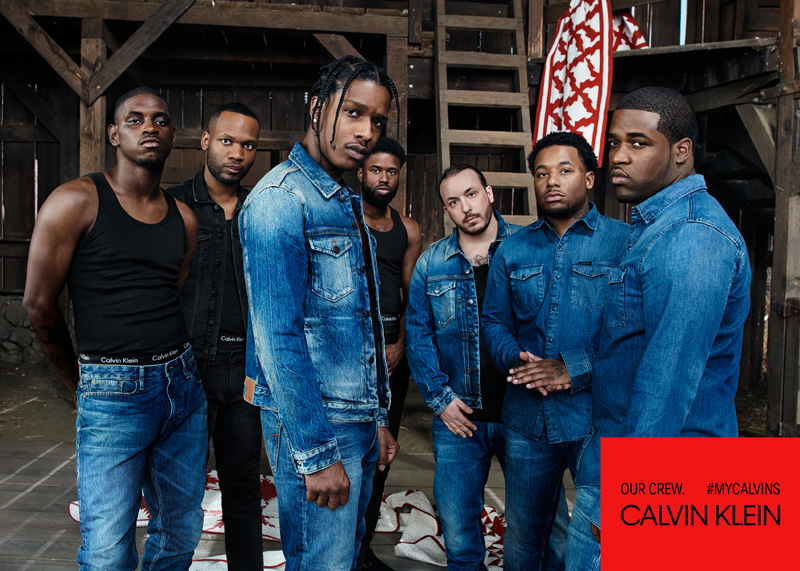 A$AP Mob: A$AP Rocky, A$AP Ferg, A$AP Nast, A$AP Twelvyy, A$AP Ant, A$AP Lou, and A$AP J. Scott par Willy Vanderperre